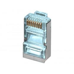 Conector modular RJ45 para datos FTP Cat.6