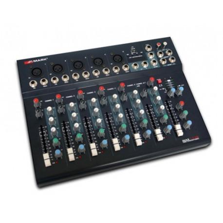 mesa mezclas para dj mark max 7 2 usb de 7canales
