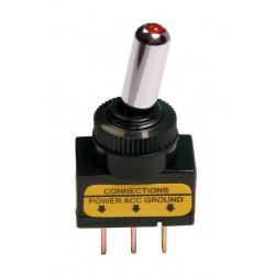 Interruptor basculante con LED 12/24 V