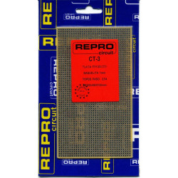 Placa de baquelita topos paso 2.54mm CT3