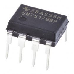 Transceptor de línea  SN75176BP   8PDIP, Diferencial  RS-485  5 V