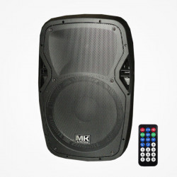 Altavoz amplificado 300W AES Bluetooth, USB, SD, radio FM