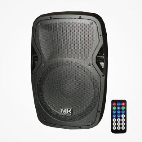 Altavoz amplificado 300W AES Bluetooth, USB, SD, radio FM