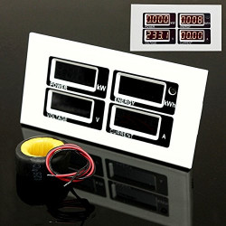 Medidor energía con memoria. Mod. PZEM-004