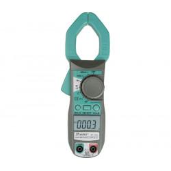 Pinza amperimétrica multifunción 400A AC/DC