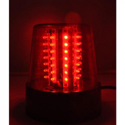 LUZ DE POLICIA LED IBIZA LIGHT JDL010R-LED ROJA (SIN SONIDO)