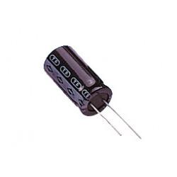 Condensador electrolítico 100uf  35v  6x11 105º