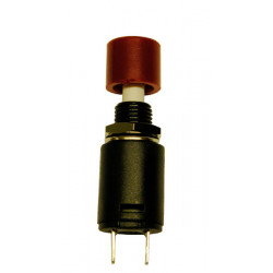 PULSADOR, INTERRUPTOR ON-OFF, 125V. 3A (250V. 15A), COLOR ROJO
