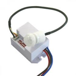 Detector de movimiento por infrarrojos empotrable mini. Mod. 60.259