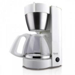 Cafetera jarra filtro 10-12 tazas blanca. Mod. TMPCF002