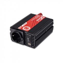 INVERSOR 24Vcc/230Vca 300w SENOIDAL MODIFICADA USB. Mod. 374124300M