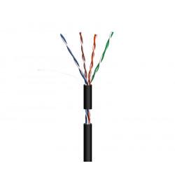 Cable para datos UTP Cat.5e rígido exterior  WIR9070