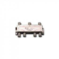 SPLITTER TV 1 ENTRADA 6 SALIDAS 2400MHz. Mod. 982-7541/24