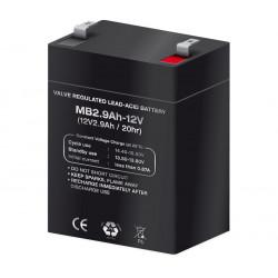 Batería plomo 12,0V/2,9Ah. Mod. BAT309
