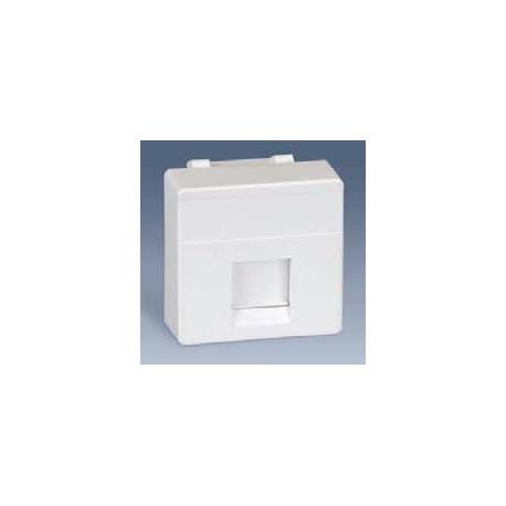 Tapa adaptador 1 conector rj45 blanco simon 27 mod 27087 - Simon 27 blanco ...