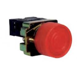 Pulsador retorno con protección negro NO. Mod. XB2-BP21