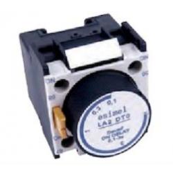 Temporizador para contactor retraso conexión 0 - 30 s. Mod. ASGA2T2