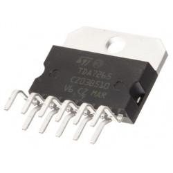 TDA7265 C.INT +-25V/4,5A/2X25W(+-20V/8