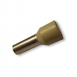 Puntera aislada 16.0 mm². Mod. ASE1612