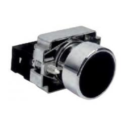 Pulsador retorno negro NO. Mod. XB4-BA21
