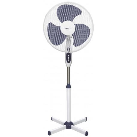 Ventilador de Pie 40Cm Blanco Nevir. Mod. NVR-VP40-B