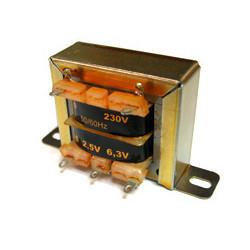 Transformador de chapa Saber 15966  0-9-12V  1A