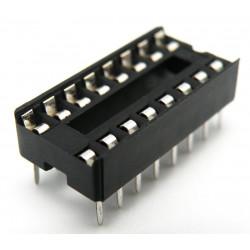 Zócalo para circuito impreso 16patillas paso 2.54mm 2954