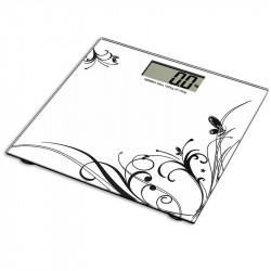 Báscula de baño LCD Slim blanco. Mod. TMPBS011