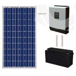 Kit solar basic 600 Wh/día