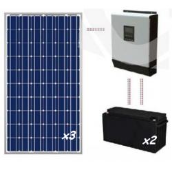 Kit solar casa de campo 1200 Wh/día