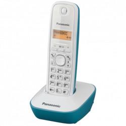 Panasonic KX-TG1611 - Teléfono Inalámbrico de color azul
