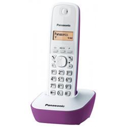 Panasonic KX-TG1611 - Teléfono Inalámbrico de color morado