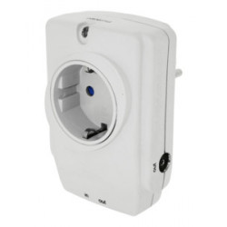 Protector de sobrecargas + Filtro EMI/RFI (250 V / 16 A.) + Protector TV/TELEFONO/ORDENADOR. Mod. 55.118