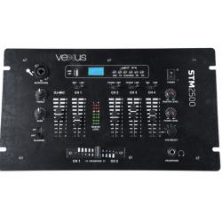 Mezclador de 5 canales USB/MP3/BT Vexus Audio. Mod. STM-2500