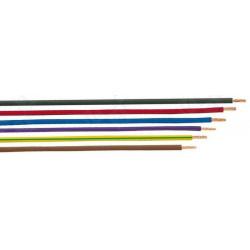 Cable Unipolar 0.22mm ROJO 2 METROS. Mod. 6MEQ1130/B/R