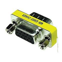 Adaptador Sub-D Compacto HDB15 hembra a HDB15 hembra. Mod. 1936