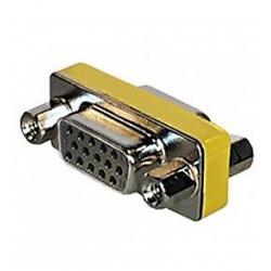 Adaptador SUB-D compacto 9 pins Hembra 9 pins Hembra. Mod 1492