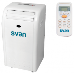 Aire acondicionado portátil SVAN 2000 frigorías. Mod. SVAN09PF