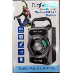 ALTAVOZ BLUETOOTH USB DIGIVOLT. Mod. HIFI-27