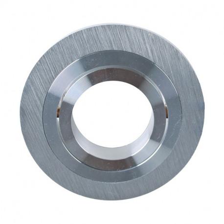 Aro Redondo Basculante de Empotrar MR16 en Aluminio. Mod. 4500002