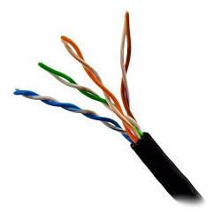 Cable UTP CAT5E CCA 305 metros EXTERIOR. Mod. SMK6001