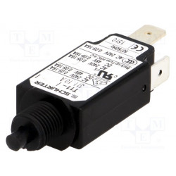 Interruptor magnetotérmico rearmable 240VCA 10A Ø9,6mm. Mod. T11-311-10A