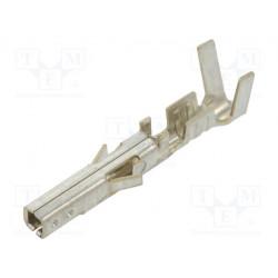 Contacto hembra 24÷18AWG MF42 estaneado crimpados cinta. Mod. MF42-HFT