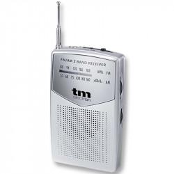 Radio Analógica portátil AM/FM GRIS TM Electron. Mod. TMRAD024S