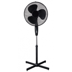 Ventilador de pie 40cm 50W SVAN Negro. Mod. SVV40P4
