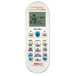 Mando aire acondicionado universal 6000 códigos. Mod. AIRCO6000