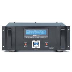 Regulador estabilizador de tensión para rack 5000W. Mod. EST-519/2