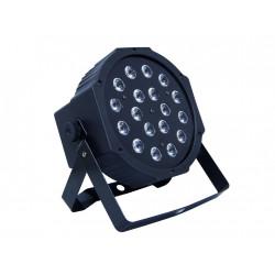 Proyector de iluminación 18 LEDs. Mod. SUPERPARLED ECO 18