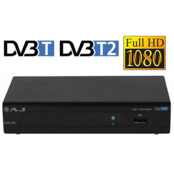 Receptor digital terrestre TDT HD Opticum. Mod. AJ DVB-93+