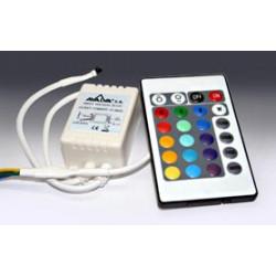 Controlador par tiras leds RGB Mod 3390